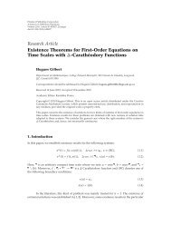 Existence Theorems for First-Order Equations on Time Scales with ...