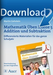 Mathematik Üben Klasse 5 Addition und Subtraktion