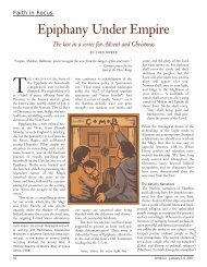 """Epiphany Under Empire."" America, 196, no. 1 (Jan ... - Jesus Radicals"