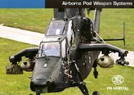 1. Airborne Pod Weapon Systems - cimacorp sa