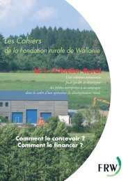 L'atelier rural - Fondation rurale de Wallonie