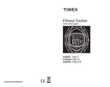 Fitness Tracker - Timex