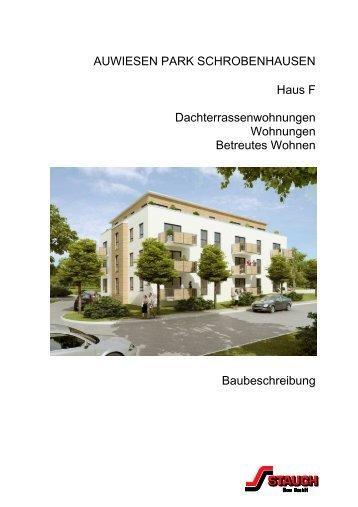 111207 Baubeschreibung F Entwurf - STAUCH Bau GmbH