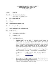 Planning Board Agenda July 16, 2013 - City of West Palm Beach