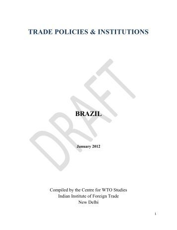 a study on wto The wto dispute settlement mechanism and developing countries: the brazil– us cotton case author fuzhi cheng citation fuzhi cheng (2007.
