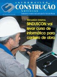 Informativo Construção Notícias - Sinduscon