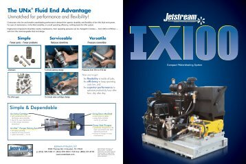 Jetstream IX100 Brochure