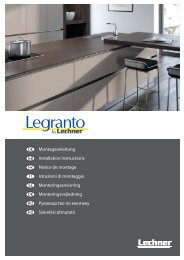 Montageanleitung Legranto 2010u.indd - Xkitchen24.com