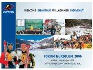 FORUM NORDICUM 2006 - International Biathlon Union