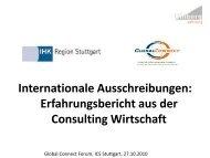 Internationale Ausschreibungen - Uhlberg Advisory GmbH