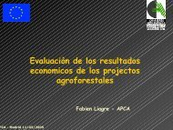 Rentabilidad económica y potencial de ... - INRA Montpellier