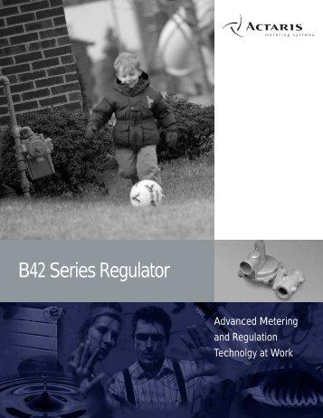 Model B42 Regulator - Istec Corp.