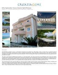 Villa Splendid, Ciovo Island, Split Riviera - CroatiaGems