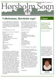Velbekomme, Hørsholm sogn! - this is the default web page for this ...