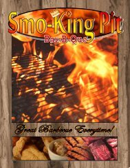 Menu - Smo-King Pit
