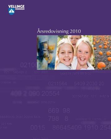 Årsredovisning 2010 (PDF-fil, 7,6 MB) - Vellinge kommun