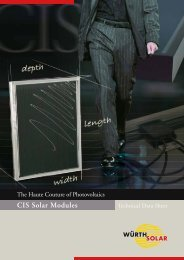 The Haute Couture of Photovoltaics - VIND & SOL