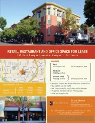 Retail, RestauRant and Office space fOR lease - Prime Commercial ...