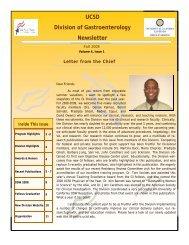 NewsletterFall 2008.pub - University of California San Diego ...