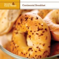 Continental Breakfast - Dining Services Website