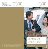 MasterCard World Signia - Staalbankiers