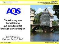 Hans-Günter Rolff - AQS