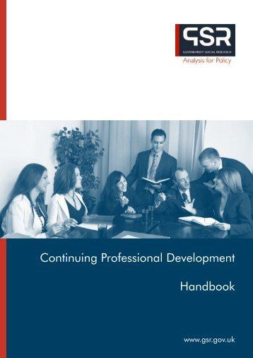 CPD Handbook - The Civil Service