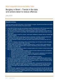 burglary-report, item 5. PDF 3 MB - Brent Council
