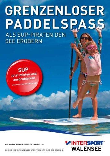 grenzenloser paddelspass - Intersport Walensee