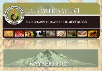 tc kayseri valiliği il gıda tarım ve hayvancılık müdürlüğü