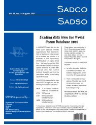Vol. 18 No. 3 - sadco - CSIR