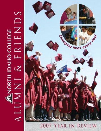 A L U M N I & F R IE N D S - North Idaho College
