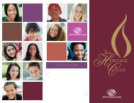 The Heritage Club brochure - Boys & Girls Clubs of America