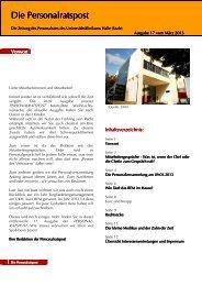 Online-Ausgabe - Medizinische Fakultät der Martin-Luther ...