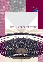 Het Europees Parlement (pdf) - Europa morgen