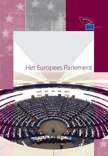 Het Europees Parlement (pdf) - Europa morgen