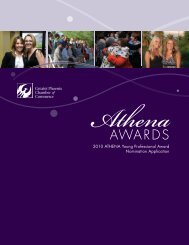 Athena Award Nomination Form - Phoenix Chamber of Commerce