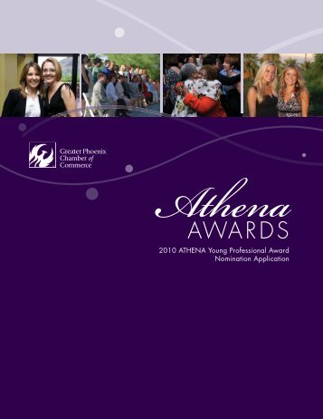 Athena Award Nomination Form - Phoenix Chamber of Commerce