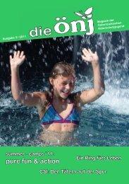 Die ÖNJ 3/2011 - Österreichische Naturschutzjugend