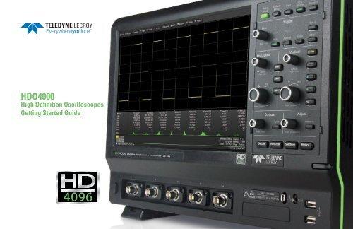 Teledyne LeCroy HDO4000 Oscilloscope 64 BIT Driver