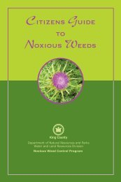 Citizens GUIDE TO Noxious WEEDS - San Juan County Extension ...