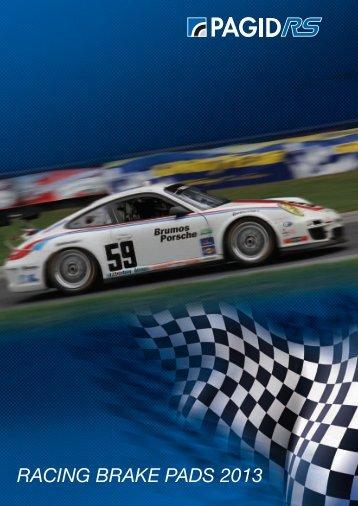Pagid Racing Catalogue 2013 - Motorquality