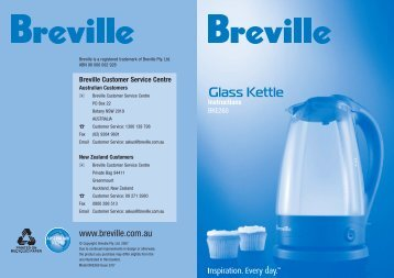 Glass Kettle - Breville