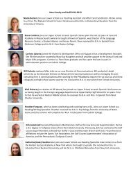 New Faculty and Staff 2012-2013 Nicole Becker joins our Lower ...