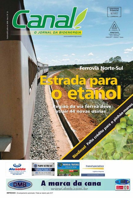 entrevista - Canal : O jornal da bioenergia