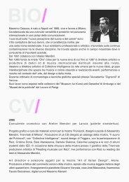 Massimo Caiazzo, è nato a Napoli nel 1966, vive e lavora a Milano ...