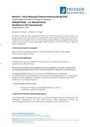 Hinweise für die Erstellung der Einkommensteuererklärung 2010 ...