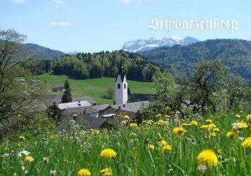 Imagebroschüre Schwarzenberg - Schwarzenberg Tourismus
