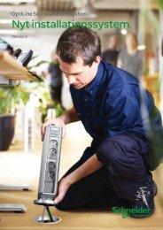 Nyt installationssystem - Schneider Electric