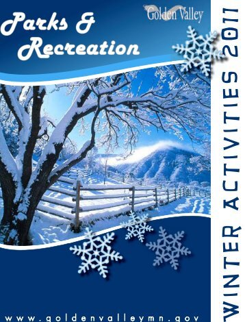 Winter 2011 Parks & Recreation Activities Catalog - City of Golden ...